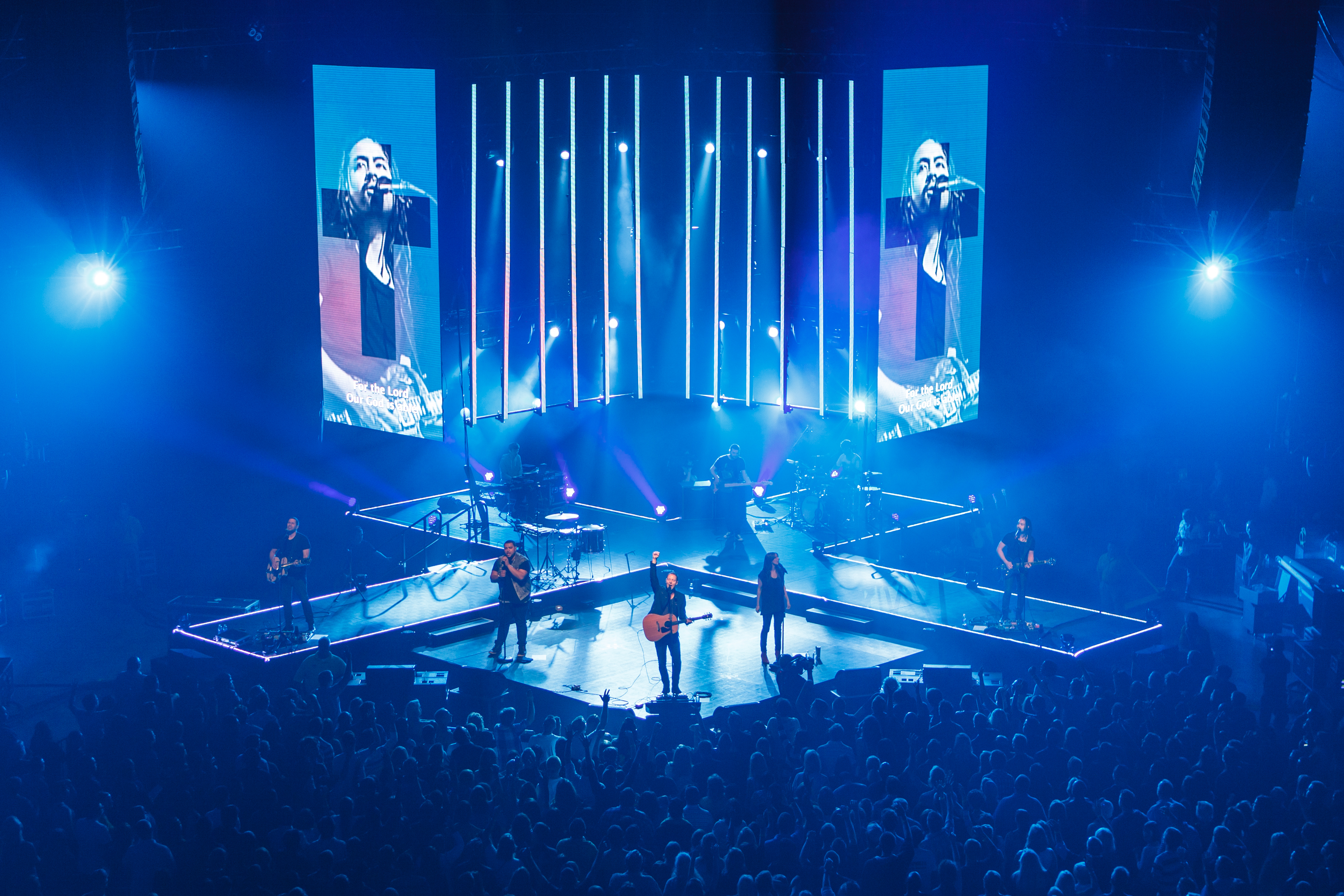 Hillsong Young And Free Tour Stage